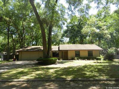 Gainesville FL Single Family Home For Sale: $189,500