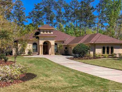 Gainesville FL Single Family Home For Sale: $920,000