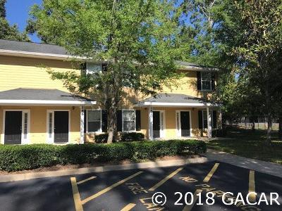Gainesville Condo/Townhouse For Sale: 2951 SW 35 Place #144