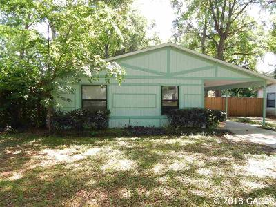 Gainesville FL Single Family Home For Sale: $127,900