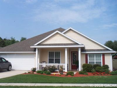 Newberry Single Family Home For Sale: 2304 NW 147 Street