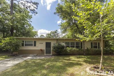 Gainesville FL Single Family Home For Sale: $159,000