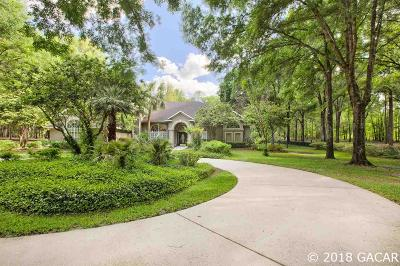 Alachua Single Family Home For Sale: 14609 NW 50th Place
