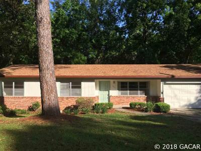 Gainesville FL Single Family Home For Sale: $217,500