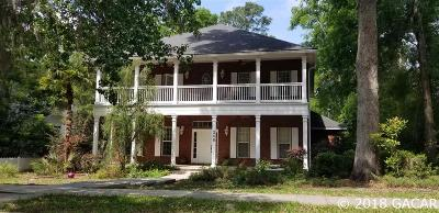 Newberry Single Family Home For Sale: 240 SW 131ST Street