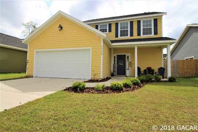 Gainesville Single Family Home For Sale: 7752 NW 21 Terrace