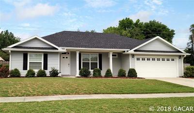 Newberry Single Family Home For Sale: 1010 NW 142ND Way