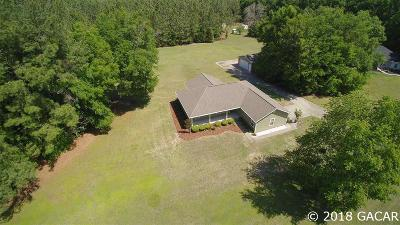 Alachua Single Family Home For Sale: 13650 NW 131st Place