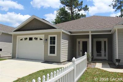 Alachua Condo/Townhouse For Sale: 10851 NW 65 Way