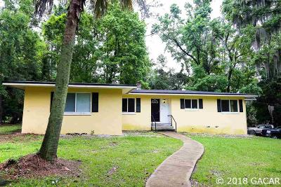 Gainesville Single Family Home For Sale: 2911 W UNIVERSITY Avenue