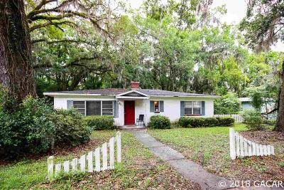 Gainesville Single Family Home For Sale: 2718 W UNIVERSITY Avenue