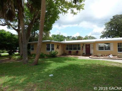 Williston FL Single Family Home For Sale: $183,000