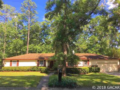 Gainesville FL Single Family Home For Sale: $250,000