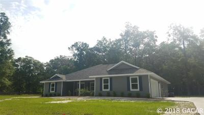 High Springs Single Family Home For Sale: 20575 NW 250th Street
