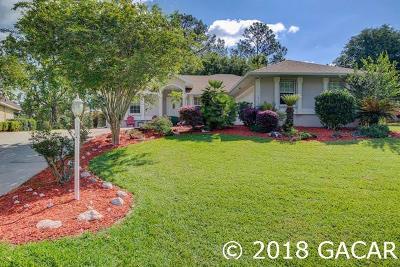Alachua Single Family Home For Sale: 10725 NW Palmetto Boulevard