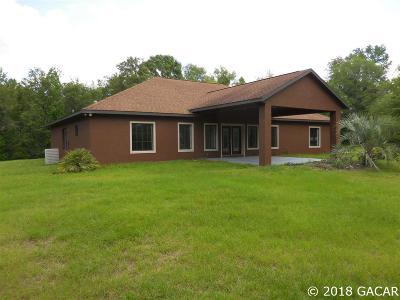 Bronson Single Family Home For Sale: 14791 NE 75TH Street