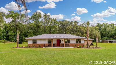 Newberry Single Family Home For Sale: 924 NW 170TH Street
