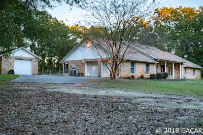 High Springs Single Family Home For Sale: 27242 NW 160th Place