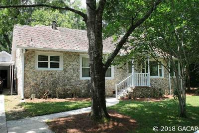 Gainesville Single Family Home For Sale: 210 NW 24th Street