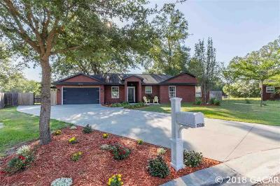 Newberry Single Family Home For Sale: 25004 SW 22 Avenue