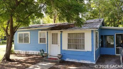 Williston FL Single Family Home For Sale: $65,000