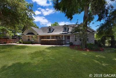 Newberry Single Family Home For Sale: 25261 SW 20TH Avenue