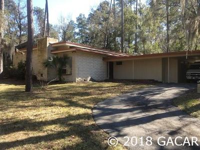 Gainesville Single Family Home For Sale: 1015 NW 22ND Street