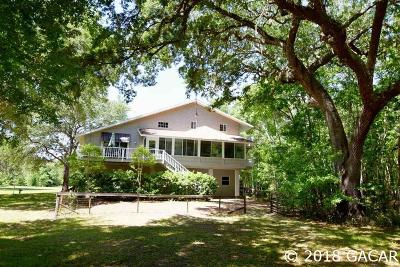 High Springs Single Family Home For Sale: 9120 NE 40 CT Road