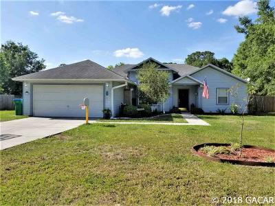 Newberry Single Family Home For Sale: 26738 NW 3RD Avenue