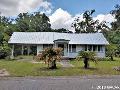 Micanopy Single Family Home For Sale: 104 NW 3RD Avenue