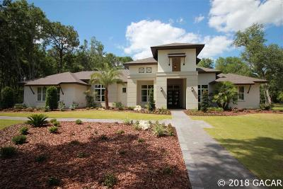 Gainesville FL Single Family Home For Sale: $1,399,000