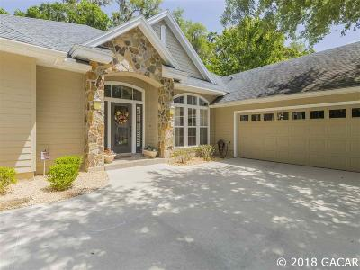 Newberry Single Family Home For Sale: 13470 NW 7th Road