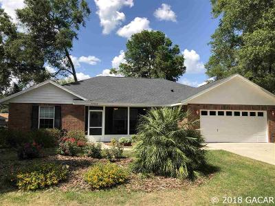 Newberry Single Family Home For Sale: 25266 SW 20th Avenue