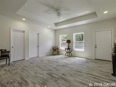 Gainesville Single Family Home For Sale: 4048 NW 17th Terrace