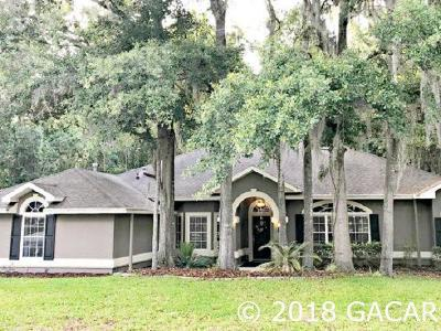 Gainesville Single Family Home For Sale: 10302 NW 13th Lane