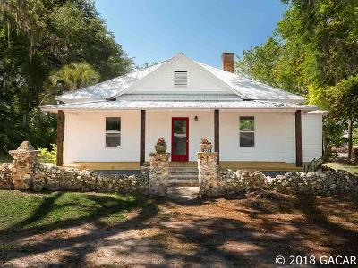 Williston Single Family Home For Sale: 229 NW 1 Avenue