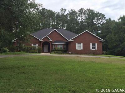 Alachua Single Family Home For Sale: 14259 NW 174 Avenue
