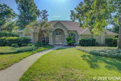 Gainesville Single Family Home For Sale: 5137 NW 62ND Street
