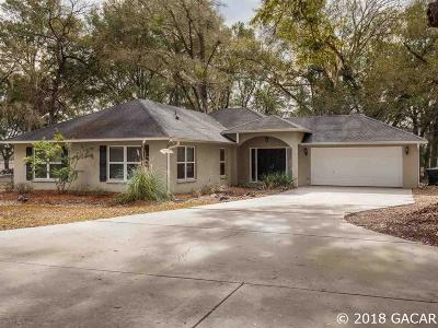 High Springs Single Family Home For Sale: 25681 NW 168th Place