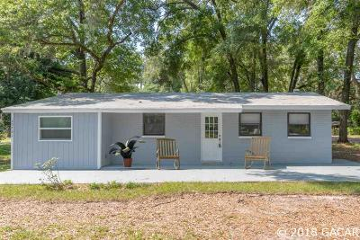 Newberry Single Family Home For Sale: 25761 NW 4th Avenue