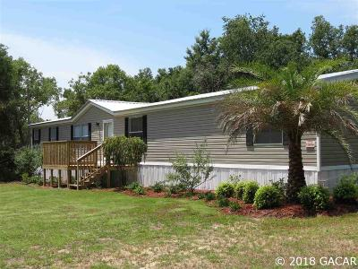Williston FL Single Family Home For Sale: $115,000