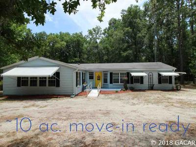 Williston FL Single Family Home For Sale: $149,900