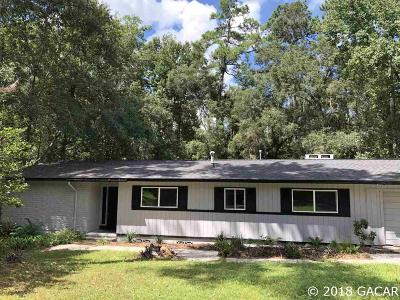 Gainesville Single Family Home For Sale: 5026 NW 36th Drive