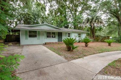 Gainesville Single Family Home For Sale: 1633 NE 18TH Place