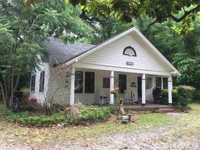 Newberry Single Family Home For Sale: 17722 & 17704 W Newberry Road