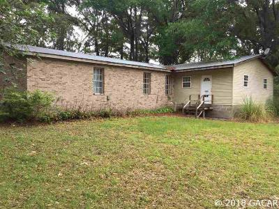 Newberry Single Family Home For Sale: 1226 NW County Road 235