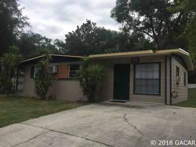 Gainesville Single Family Home For Sale: 3831 SE 15th