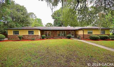 Gainesville Single Family Home For Sale: 3924 NW 37TH Place