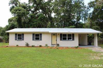 Newberry Single Family Home For Sale: 26429 SW 4th Road