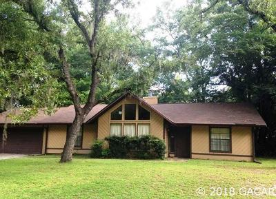 Gainesville Single Family Home For Sale: 7304 SW 18th Place